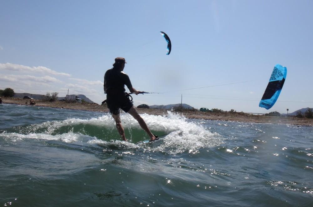 113 aprender en 6 horas kitesurf en Mallorca en Abril