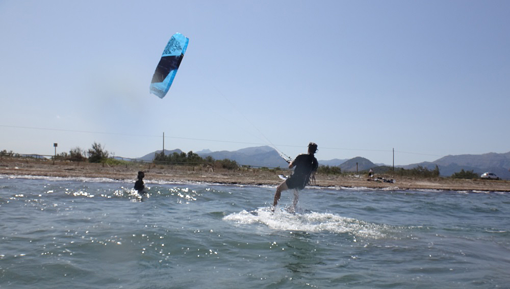 123 esta vez va en serio kitesurfing mallorca