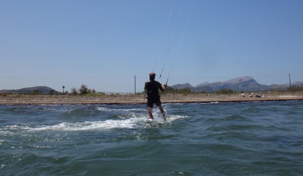 142 Sa Marina el curso de kite con kite-mallorca
