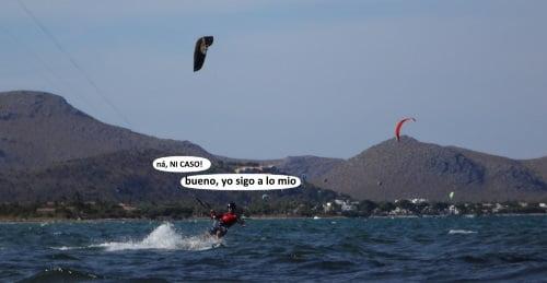 15 eso, sigue a lo tuyo y disfruta kite lessons mallorca