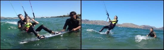 2 Elisa waterstart avec leçons de kite a Palma de Majorque