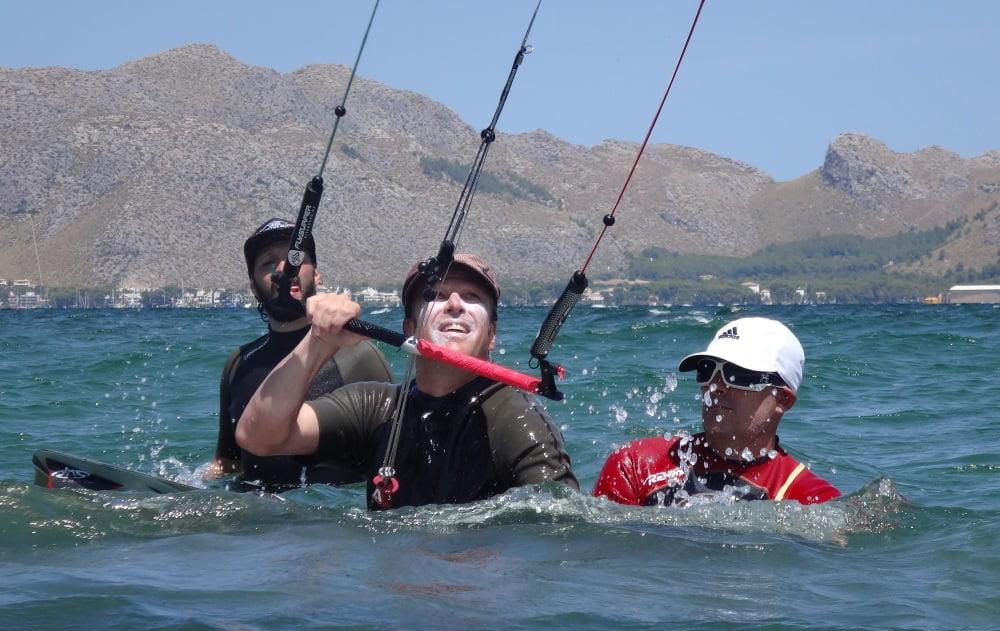 23 curso de kite en Palma de Mallorca en Semana Santa