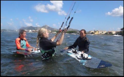 3 Para practicar kitesurf no se requiere fuerza excepcional