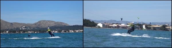 3 clases de kitesurf en Sa Marina Pollensa curso en Junio y Julio con Cornelius