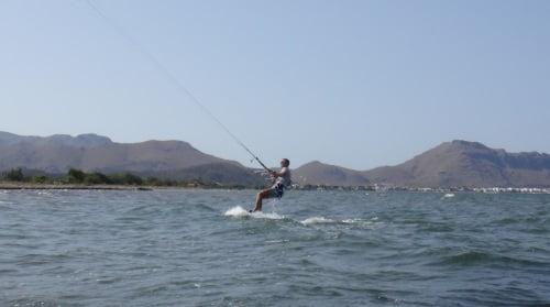 3 gut kitesurfing fahrt mallorca palma