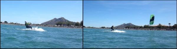 4 escuela de kitesurf en Mallorca flysurfer Peak la mejor cometa para clases con Cornelius