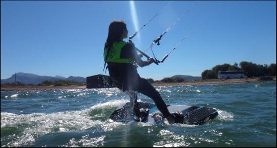 4 le vent connu sous le nom Embat course de kite a Pollensa Alcudia