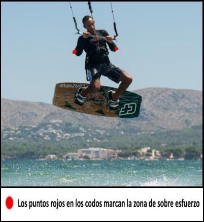 4 los puntos de sobre esfuerzo mallorca kiteschool clases de kite en Pollensa