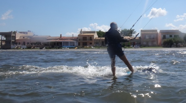 5 Es Barcares y Sa Marina curso de kite en Pollensa Mallorca con Rita viento en Alcudia