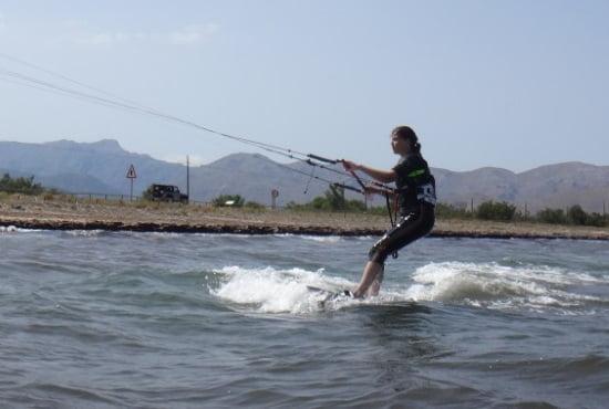 5 ha aprendido kitesurf con Mallorca kiteschool