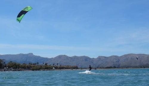 5 tiempo de dar marcha atras aprender kite en Mallorca