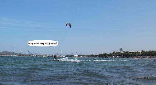 7 ahí viene de nuevo escuela de kitesurf en Palma