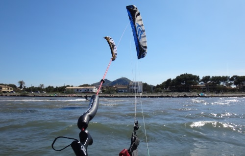 7 kitesurfing lessons in Mallorca with Flusirfer Speed 3 15 mts