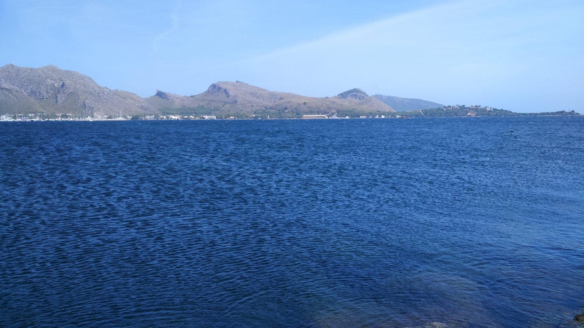 7 vent a la plage de Formentos la -bas