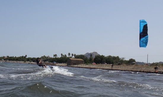 9 Sa Marina escuela de kitesurf en Junio