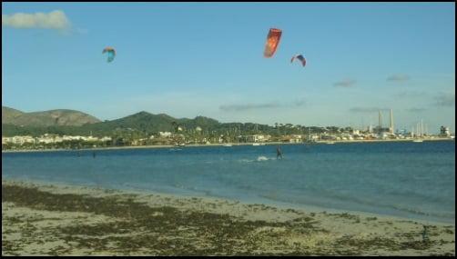 bonnes leçons de kite a Majorque Dois-je faire confiance aux conditions de vent