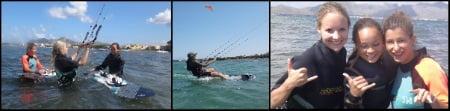 clases de kitesurf para chicas en mallorca aprende con kitesurfing mallorca