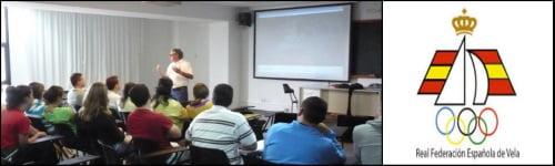 curso de la federacion española de vela Mallorca