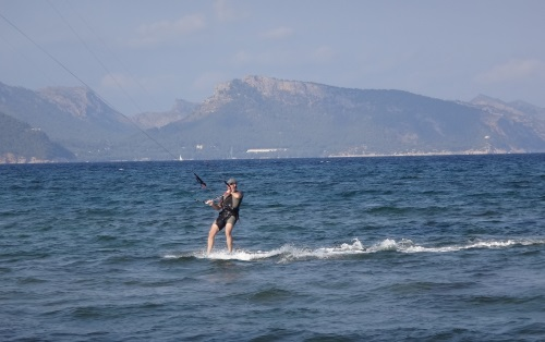 kite board flyboard kite school flysurfer Mallorca
