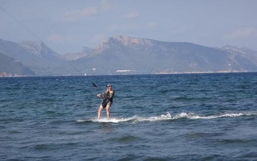 kite board flyboard kite school flysurfer Mallorca