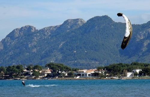 3 fto besten Wind Kite jemals in Mallorca mit Kitesurfen Mallorca com