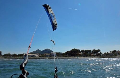 7 ecole de kite a Alcudia voile Speed-3 Mallorca kiteschool en septembre