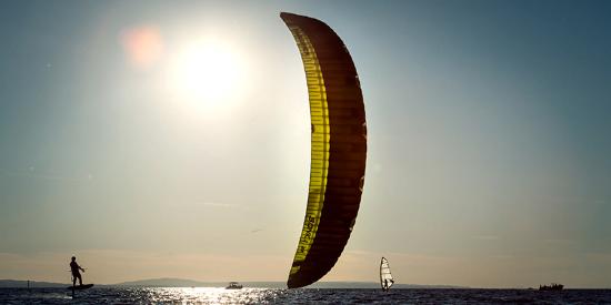 9 doble cordwise el sistema mas inteligente para aprender kitesurf en Alcudia Palma y Mallorca en Julio