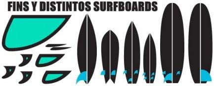 1-Mallorca-kitesurfenschule-verschiedene-Surfbretter-Finnen