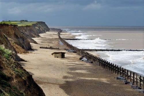 16 playas y cambio climatico