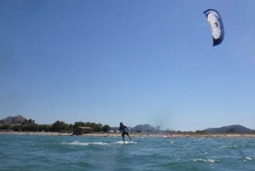 3 Pulse 2 de Flysurfer aprender kitesurf en Mallorca en Junio