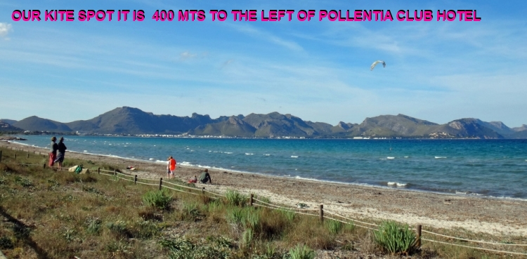 3 nuestro spot para clases de kitesurf en verano