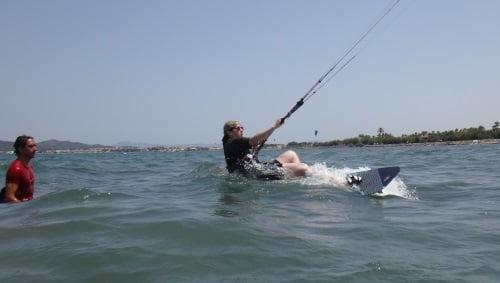 8 aprender kitesurf en Palma de Mallorca en Agosto