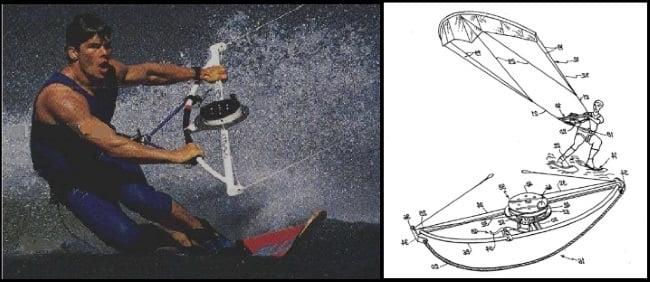 Cori Roeseler kitesurfring el nuevo deporte 1986