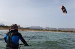 Peak voladora Pollensa clases de kitesurf en Mallorca