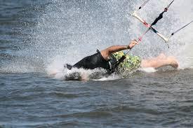 accidente de kitesurf sin consecuencias en Mallorca