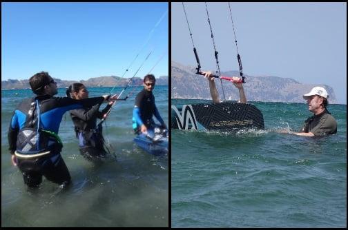 apprendre kite a Majorque avec Asociacion Aprende a Navegar