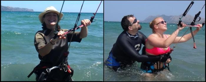 best kite lessons in Mallorca with kitesurfing mallorca kiteschool