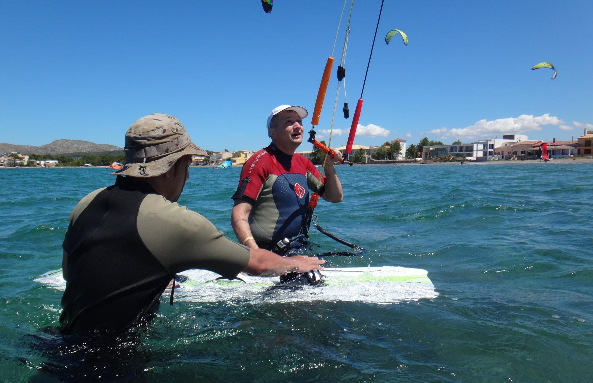 objectifs-final-kitesurf-course-mallorca-école de kite kitesurfing Majorque en Juillet