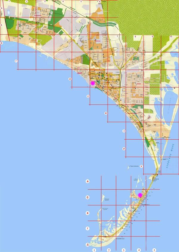 00009000 Berdiansk map kitesurfing Ukraina