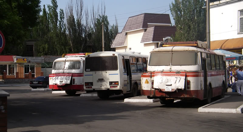 БЕРДЯНСКИЙ la estacion de bus