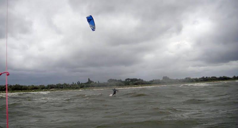 30 el fin del Spit kitesurf en Berdyansk