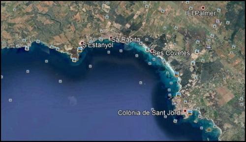 Kitesurfing Mallorca sur y suroeste vientos