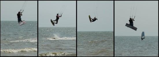 kitesurf en Sopino - Mariupol