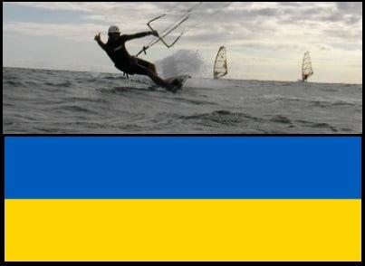kitesurfing Ucrania