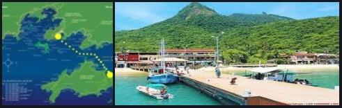 16 porto de Abraao Ilha Grande Brasil