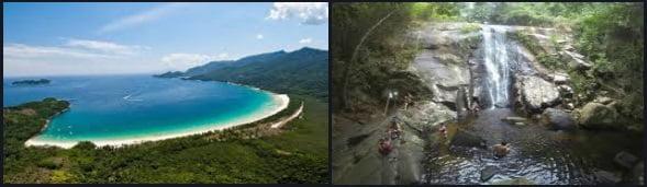 20 Lopes Mendes y Cachoeira de Ilha Grande