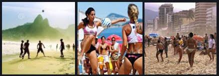 3 brasil fotebol e kitesurf