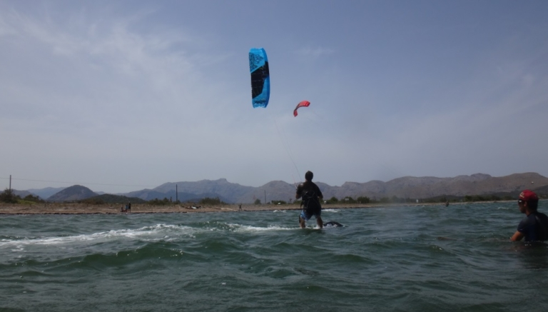 5 kite Peak 9 meters succesful kite course Mallorca