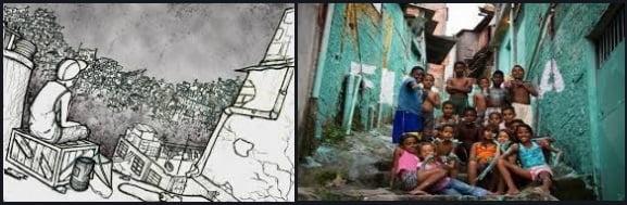 9 las favelas y el campo empobrecido de brasil