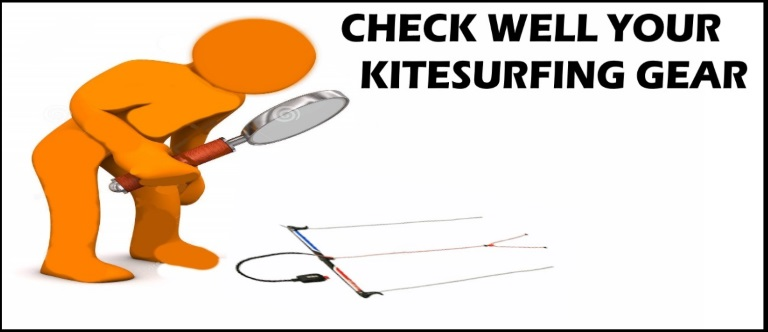 check well your kite gear
